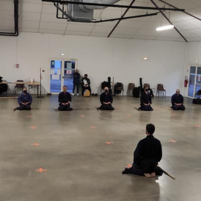 Séance de iaido du mardi 6 octobre 2020